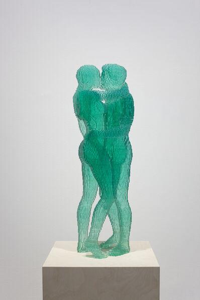 Thomas Broomé, 'Green kiss', 2016