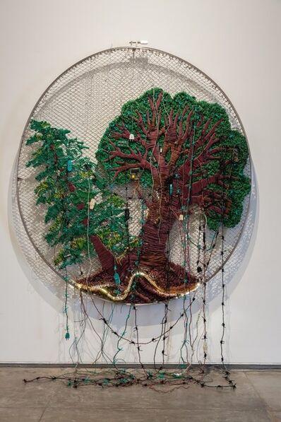 Reena Saini Kallat, 'Siamese Trees', 2014
