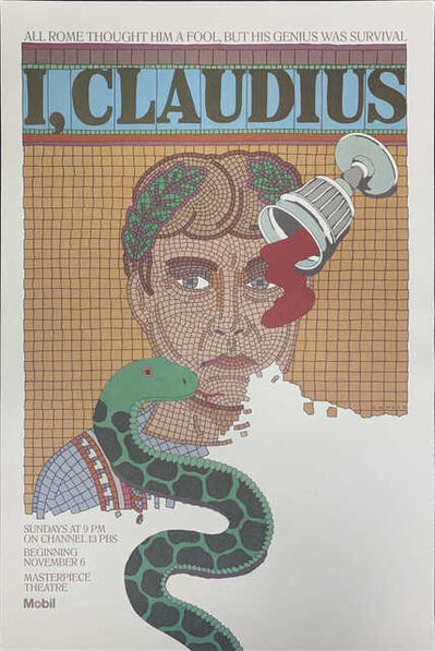 Seymour Chwast, 'I, Claudius', 1976