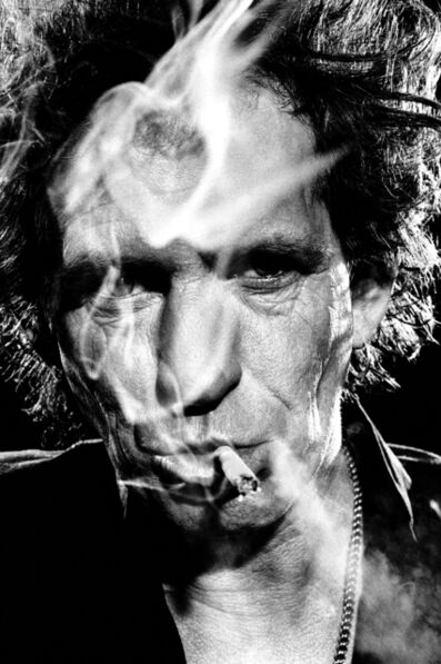 Stephanie Pfriender Stylander, 'Keith Richards, The Third Eye', 1994