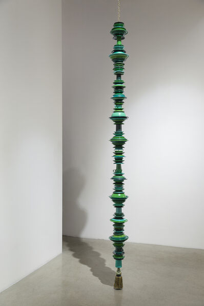 Thomas Glassford, 'Compact Green Drip', 2014