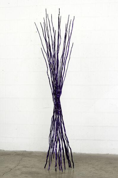 Shayne Dark, 'Interlace - Purple', 2012