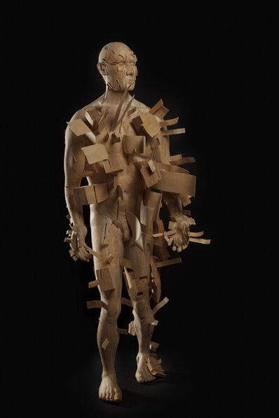 Clive van den Berg, 'Man Loses History', 2011