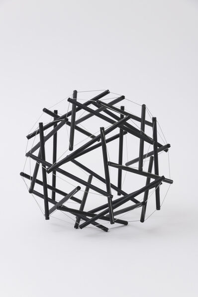 R. Buckminster Fuller, 'Geodesic Tensegrity Sphere, 30 Strut, 3 Frequency Dome, Carbon C-60 Finish, Edition 1 of 1'