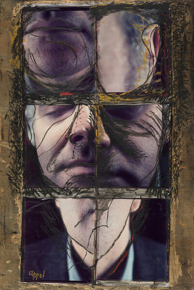 Karel Appel, 'Portrait of Donald Kuspit'