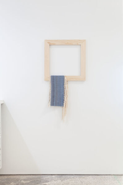 Frances Trombly, 'Weaving (Indigo hanging)', 2020