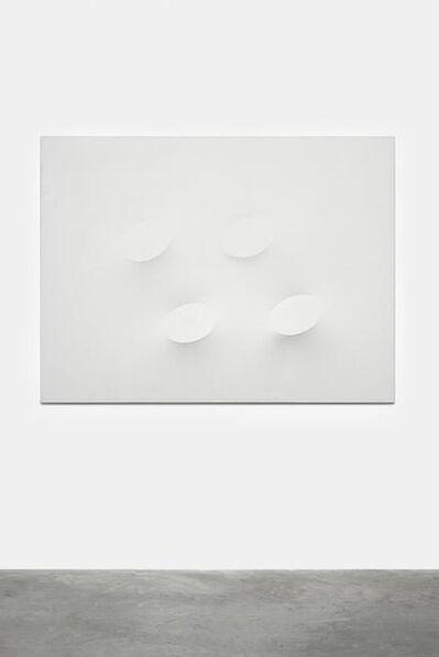 Turi Simeti, 'Quattro ovali bianchi,', 2009