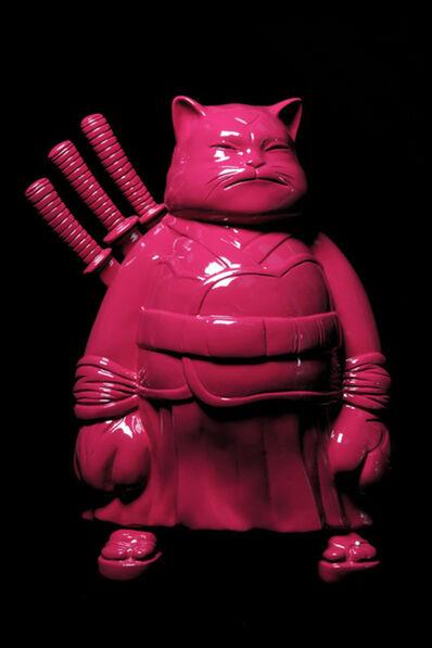 Hiro Ando, 'Big samuraï, dark pink'