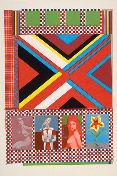 Eduardo Paolozzi, 'Part One, Frozen Terror… Part Two, Fangs of Death from General Dynamic F.U.N', 1970