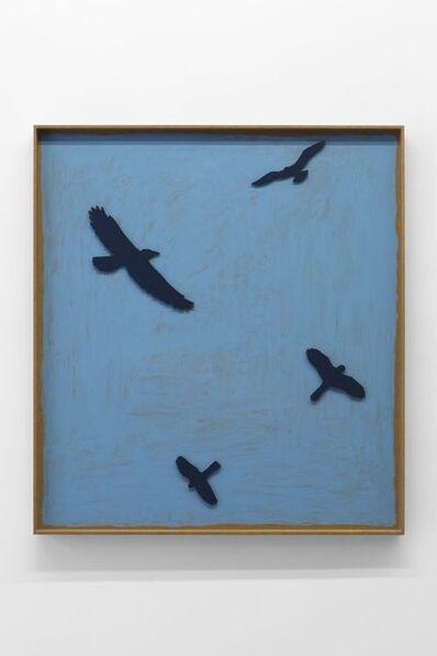 Valentin Carron, 'I quattro uccelli ', 2017
