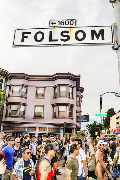 Mitchell Funk, 'San Francisco, Folsom Street Fair ,BDSM  Leather Event #1', 2015
