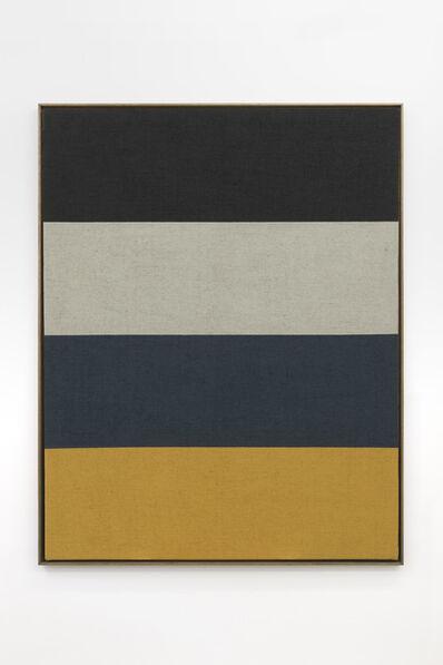 Antonio Ballester Moreno, 'Two Days Horizon (Black, White, Yellow and Blue)', 2020
