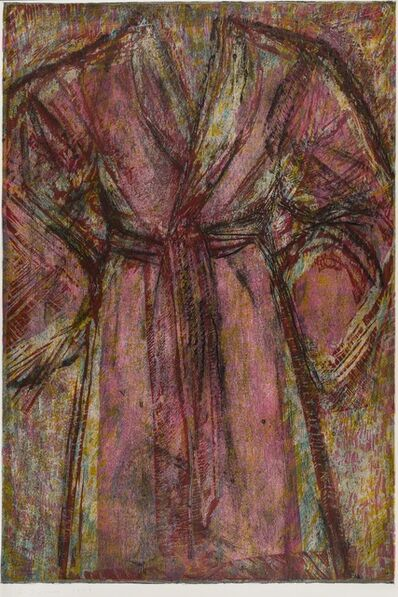 Jim Dine, 'Rosy Robe (Carpenter 122)', 1998