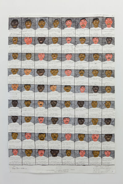 Dapper Bruce Lafitte, 'Colored Federal Inmates from New Orleans Louisiana', 2018