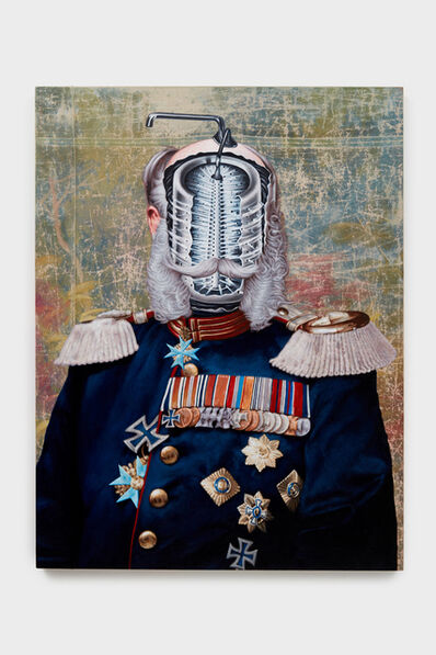 Jim Shaw, 'Official Portrait (Kaiser Custom 6)', 2019