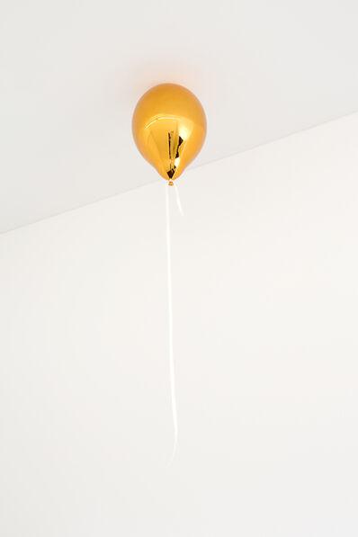 Jeppe Hein, 'Orange Balloon (dark)', 2017