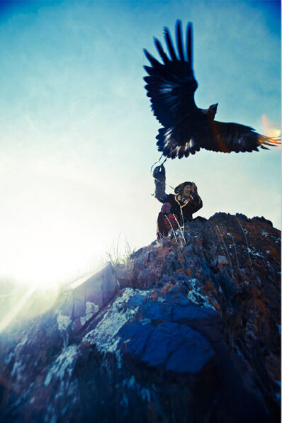 Lyle Owerko, 'Eagle Hunter 8'
