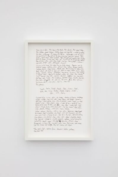 Guillaume Ziccarelli, 'Notes', 2020