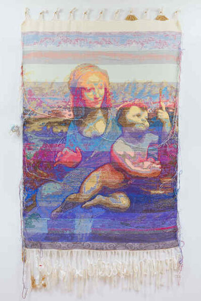 John Paul Morabito, 'Madonna del filatore (dopo Leonardo da Vinci),', 2018