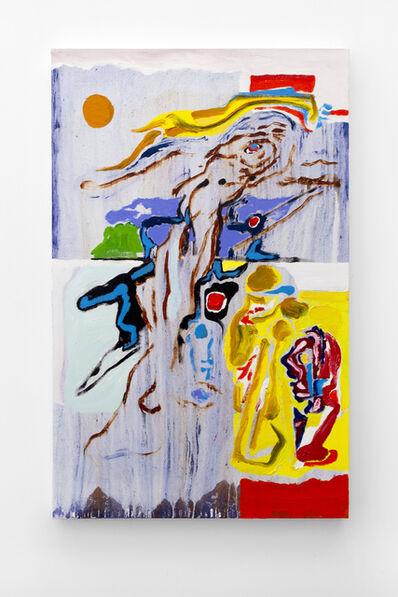 Harold Klunder, 'Orange Sun / Antwerp Blue', 2013-2015