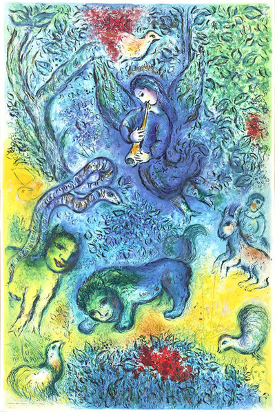 Marc Chagall, 'La flûte enchantée (The Magic Flute)', 1967