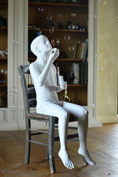Alexandra Valenti, 'Boy with bubbles', 2021