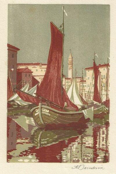 Aemilian Baudnik, 'Venedig / Venice', ca. 1910