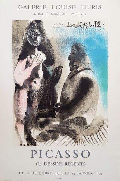 Pablo Picasso, 'Galerie Louis Leiris: The Painter & His Model', 1972