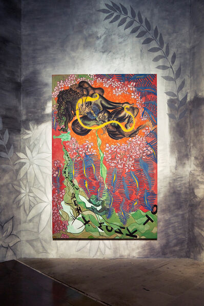 Chris Ofili, 'Forgive Them (Installation view)', 2015
