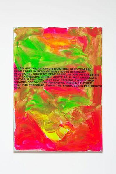 Stefan Brüggemann, 'Beats Per Minute Painting', 2017