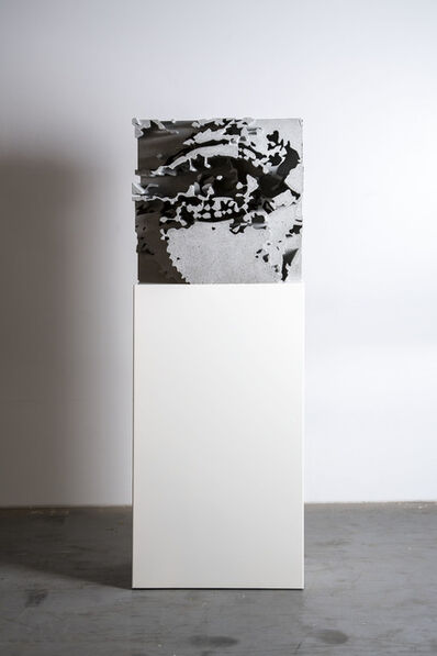 Vhils, 'Monolith 5', 2018