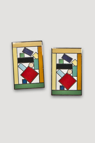 Marco Zanini, 'Esmeralda Earrings', 1985-1986