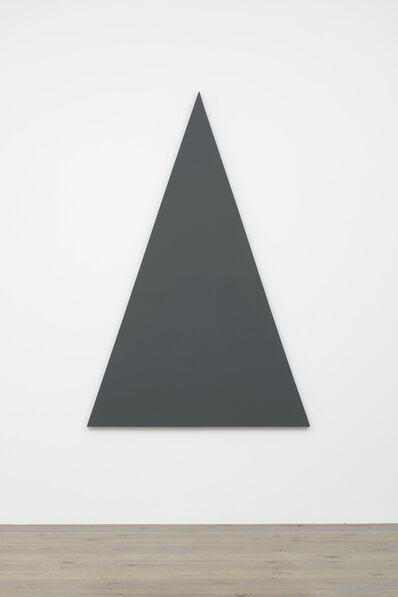 Alan Charlton, 'Triangle Painting', 2015