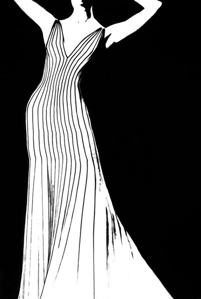 Lillian Bassman, 'Kronung des Chic, Jada, dress by Thierry Mugler', 1998
