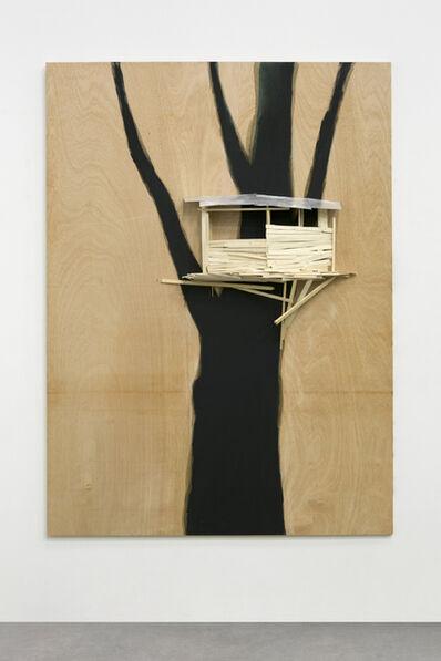Tadashi Kawamata, 'Tree hut in Tremblay n°5', 2019