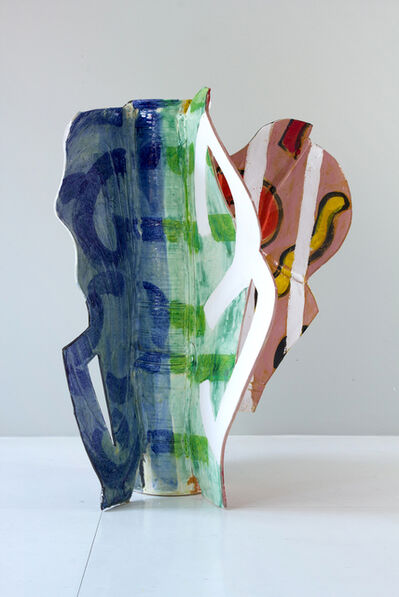 Betty Woodman, 'Aztec Vase 10', 2011