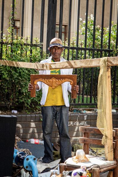 Senzo Bongwana & Zivanai Matangi, 'Ezweni Lam: In My World (Woodwork)', 2019