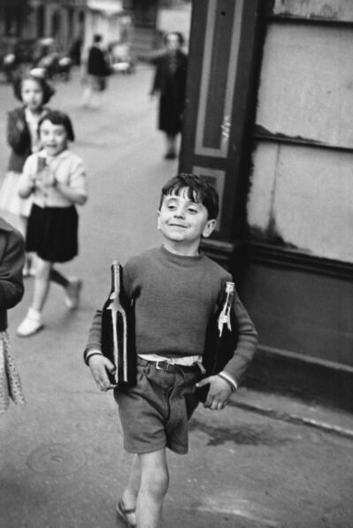Henri Cartier-Bresson, 'Rue Mouffetard', 1990s