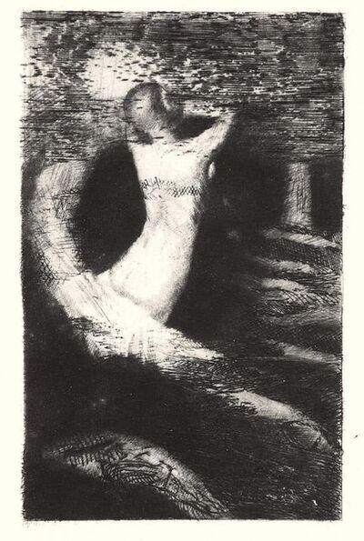 Odilon Redon, 'Passage d'un Ame', 1891