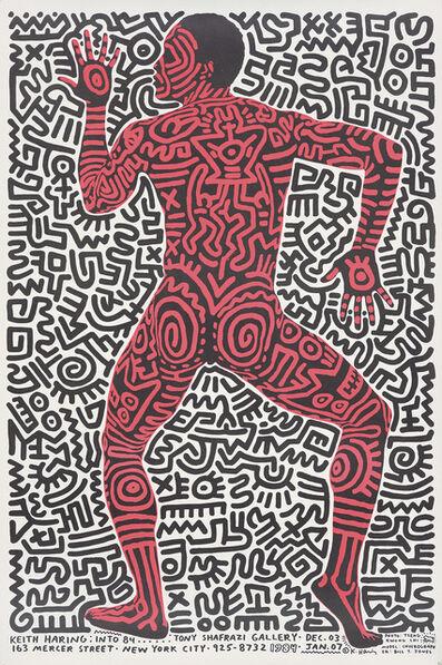 Keith Haring, 'Keith Haring at Tony Shafrazi Gallery.', 1984