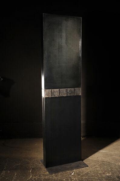 Etienne Krähenbühl, 'Stèle Aux 5 Cubes Mobiles', 2010-2018