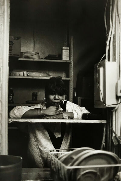Ming Smith, 'Waitress 2 in the Pantry, Pittsburgh, PA (August Wilson Series)', 1992