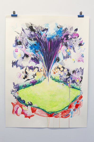 Laura Fitzgerald, 'Combustible Field syndrome - a field suddenly explodes', 2020
