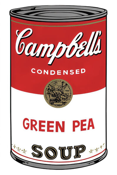 Andy Warhol, 'Campbell's Soup Can 11.50 (Green Pea)', 1960s printed after