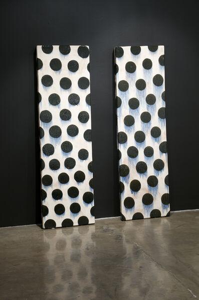 Jun Kaneko, 'Wall Slab Pair ', 1989