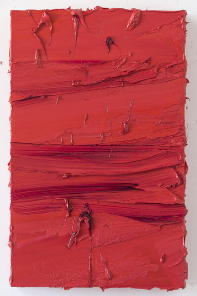 Jason Martin, 'Untitled (Madder Carmine/Brilliant Pink)', 2017