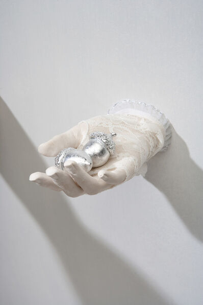 Kathleen Elliot, 'Offerings #3, Silvered Acorns', 2013
