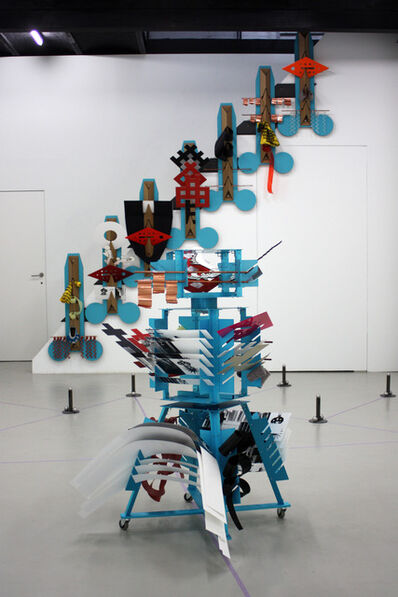 Suse Weber, 'formula: martionette - installation view', 2014
