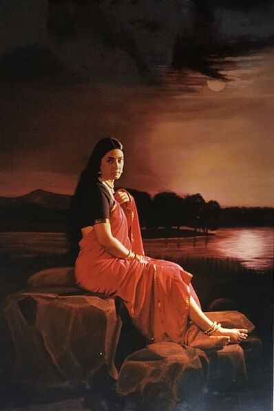 Pushpamala N., 'Lady in moonlight', 2007