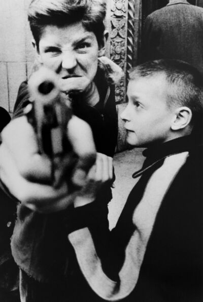 William Klein, 'Gun, New York, 1955', 1955
